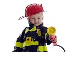 Fire Safety   It is very important to demonstrate and practice with children the correct way to react to a fire in their own home.  Stop, drop, and roll if your clothes catch on fire. If there is a fire, crawl on the ground under the smoke to escape. If there is a fire in your house, do not hide—go outside. Dial 9-1-1 from a neighbor's house if there is a fire. Never play with matches. Do not play near an open fire. Have a smoke detector and demonstrate how it sounds and what to do when it goes off. Make sure that there is at least one window that can be open in each upstairs room, in case that is the only way out. If there is smoke outside a bedroom door, and the door is hot, children should put something under the opening at the bottom of the door, turn on their light and go to their window so someone will see them. Read more about Fire Safety for Children   Fire Safety Coloring Sheet Fire Safety Song Video Fire Safety Song Video 2 Fire Safety Video Timon and Pumbaa Fire Safety